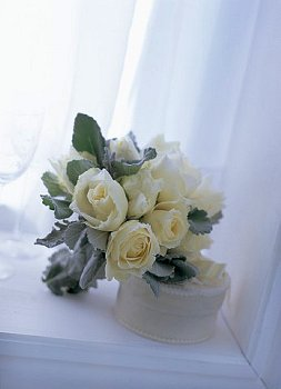 Gray Wedding Flowers