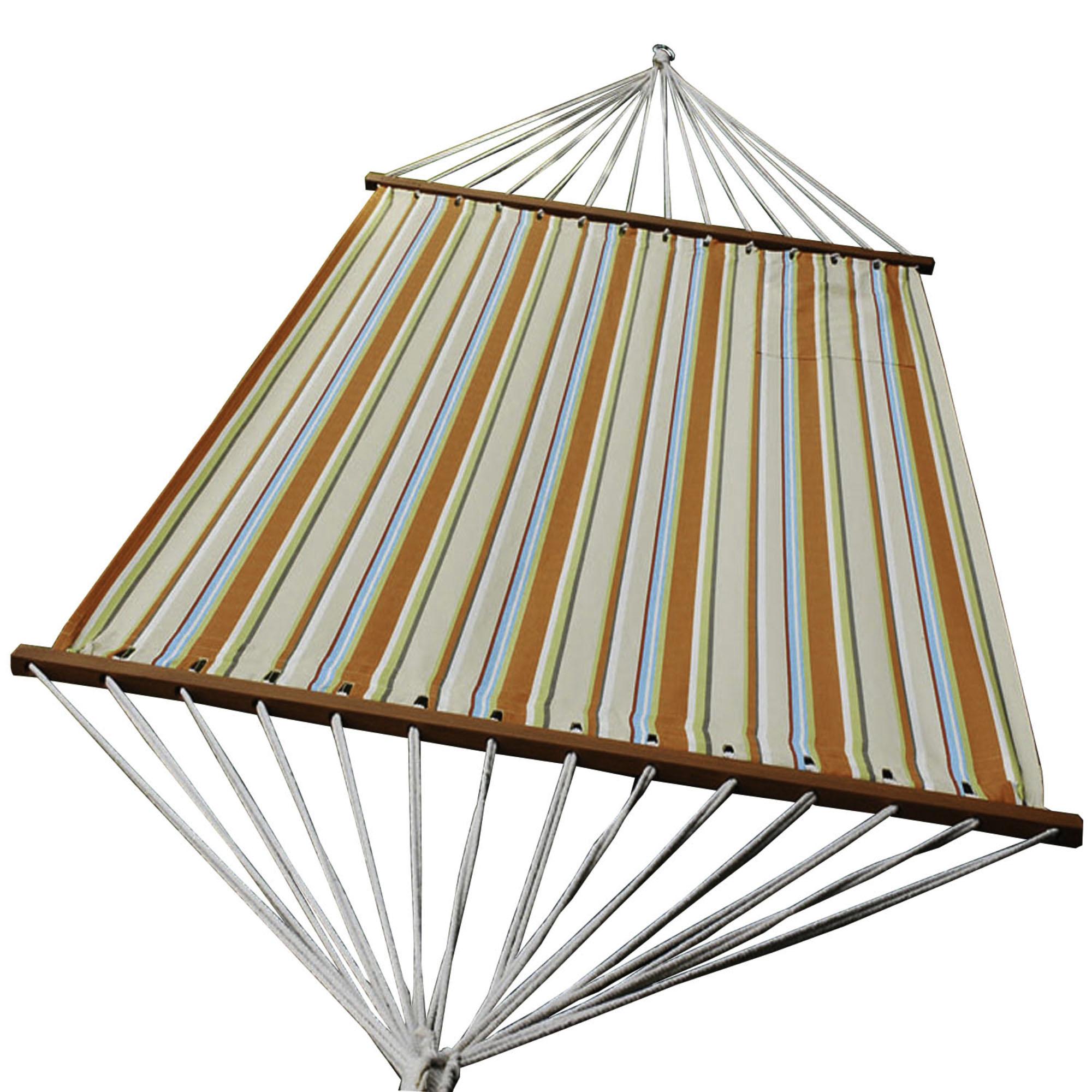 Olefin Hammock - Orange Stripe