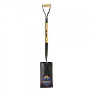 Spade Shovel 27 In. D Handle Pony Contractor
