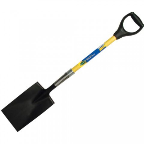 Garden Spade with Fiberglass Handle and Ergo D-Grip