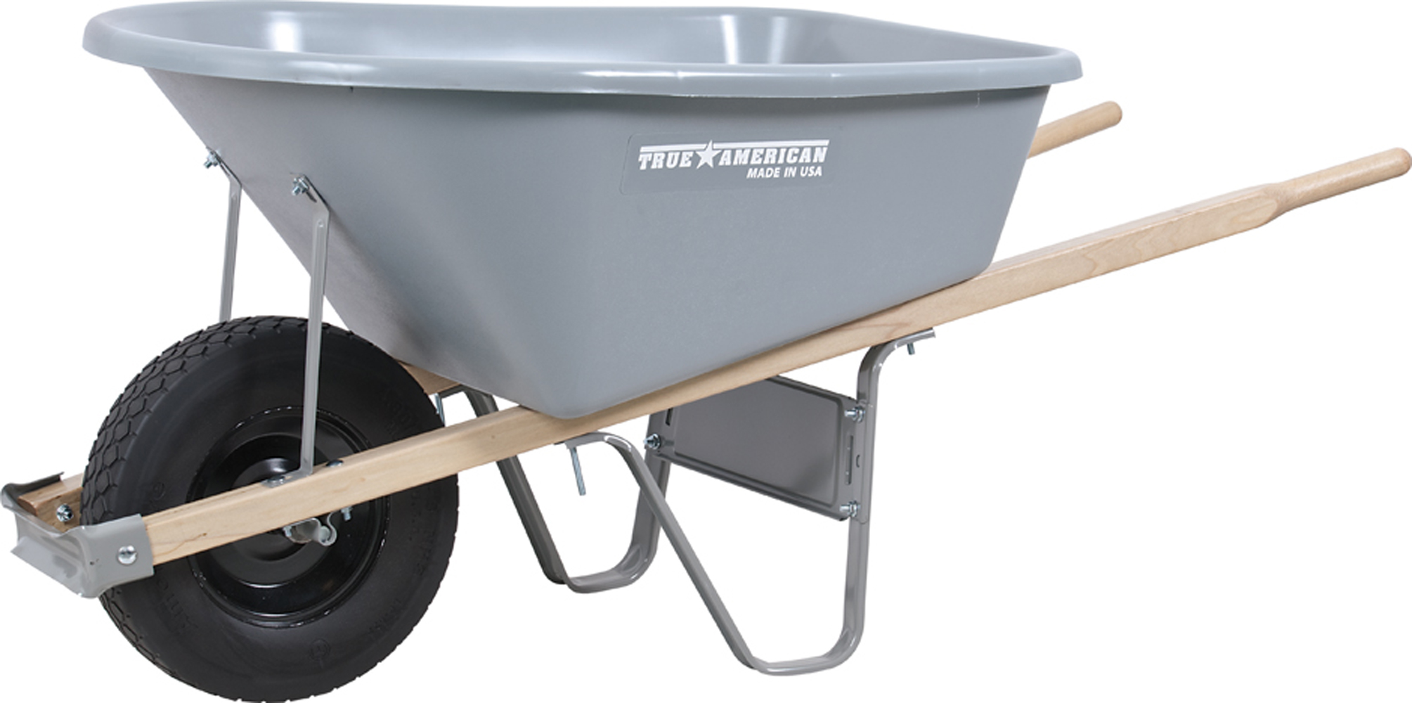 Wheelbarrow Poly with Flat Tree Tire