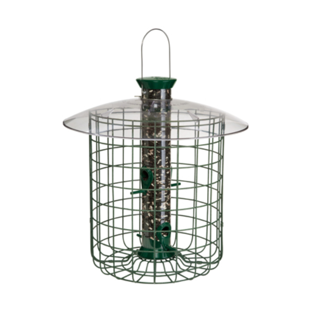 Sunflower Domed Cage Shelter Feeder