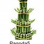 Lucky Bamboo 4 Tier Pagoda